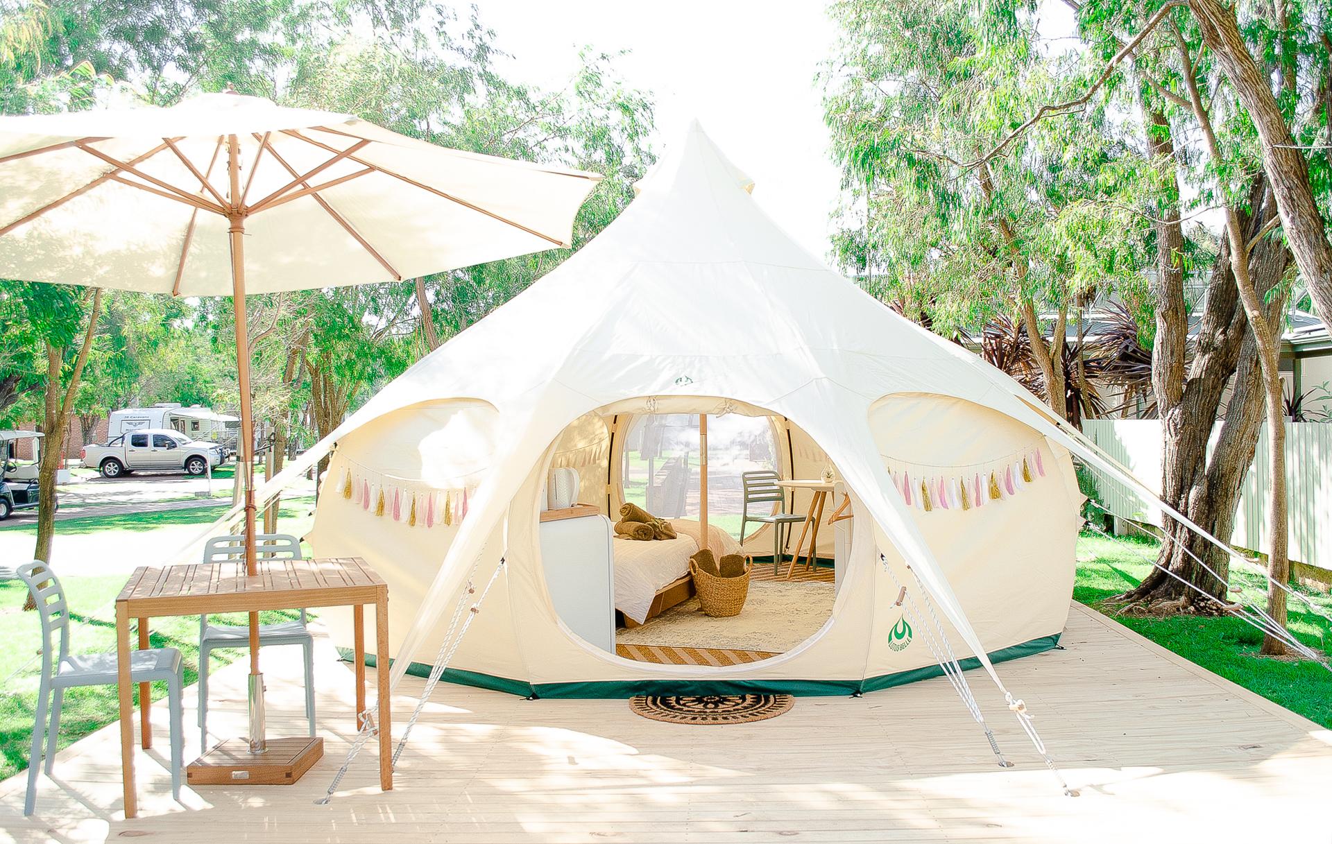 Glamping Tent | Mandalay Resort